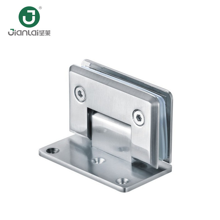 Zinc Alloy Glass Clips /Shower Door Glass Hinge pictures & photos