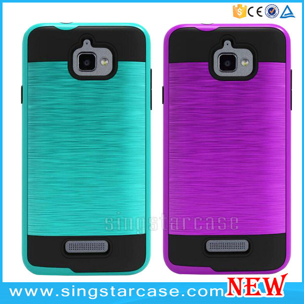 China Metallic Slim Armor Case for Coolpad Catalyst 3622A/3623A