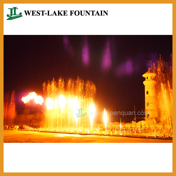 Large Musical Colorful Lighting Dancing Fountain in Theme Park pictures & photos