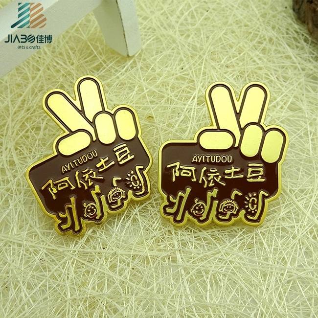 Factory Direct Custom Designed Promotion Metal Badge