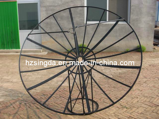 Mesh C Band 210cm Satellite Dish Antenna