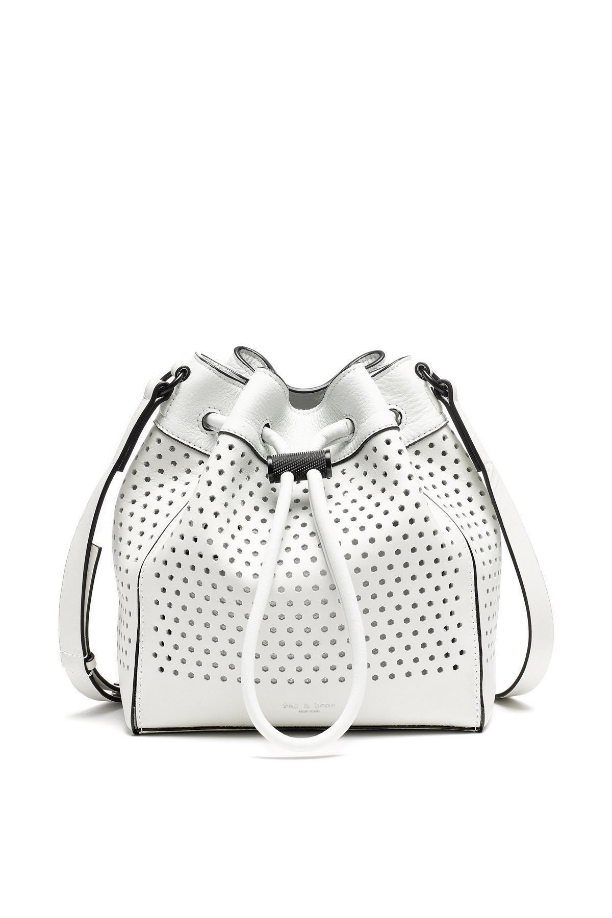 China Women Las Mini Pu Bucket Bag