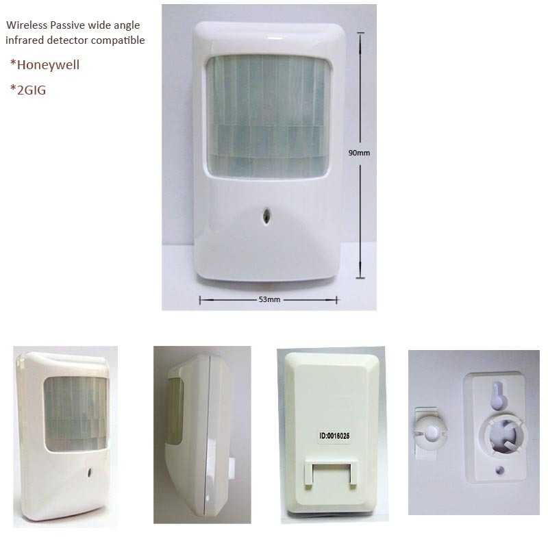 China 345MHz Wireless Motion Detector for 2gig Security Alarm ...