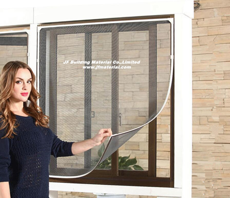 China DIY Magnetic Fly Screens And Mosquito Net Hook U0026 Loop   China Window  Screen, DIY Insect Window Screen