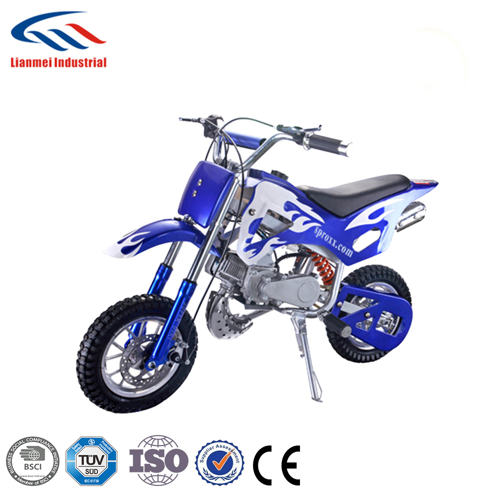 49cc Two Stroke, Single-Cylinder, Air Cooled Dirt Bike pictures & photos