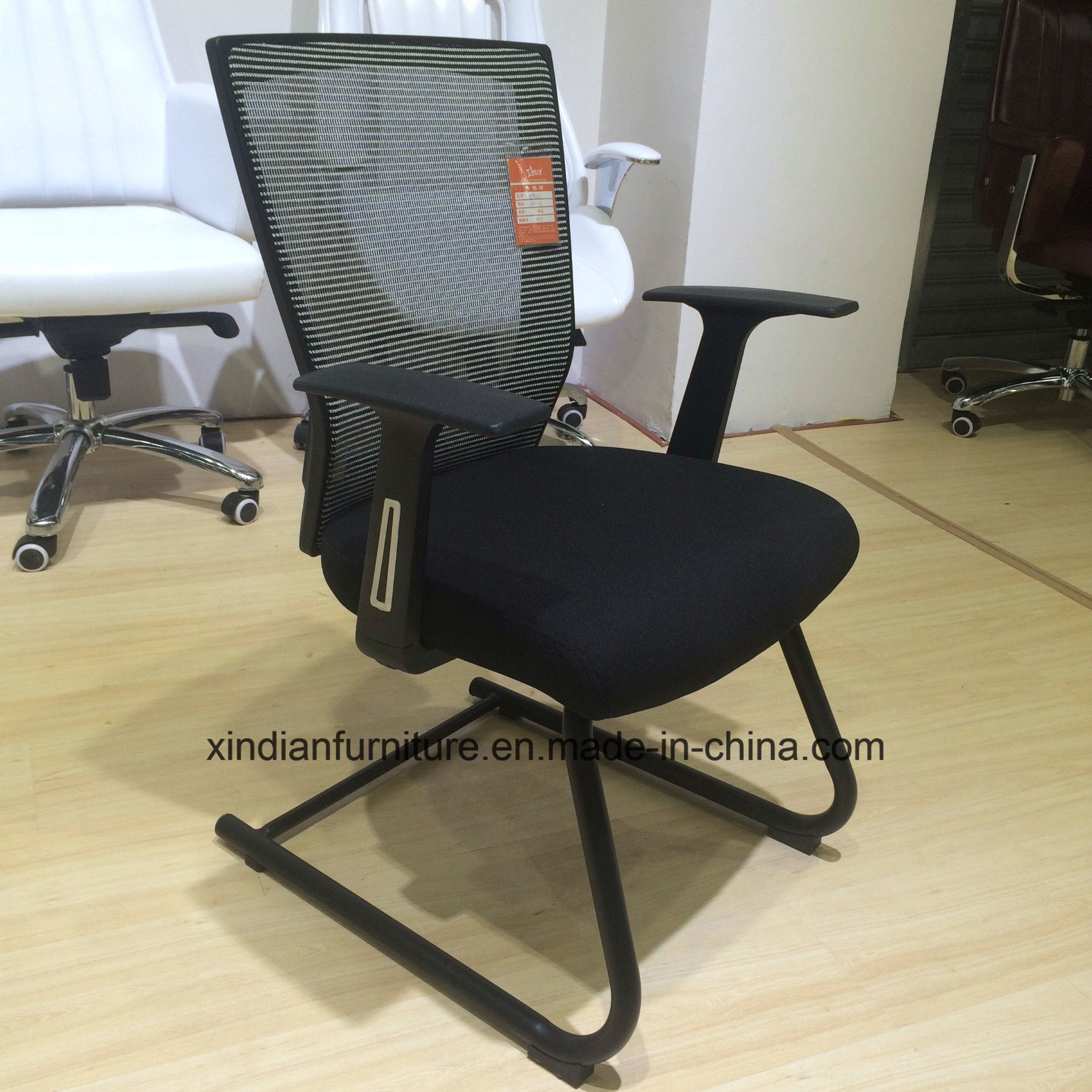 China Fixed Metal Frame Mesh Office Chair With Low Price Modern