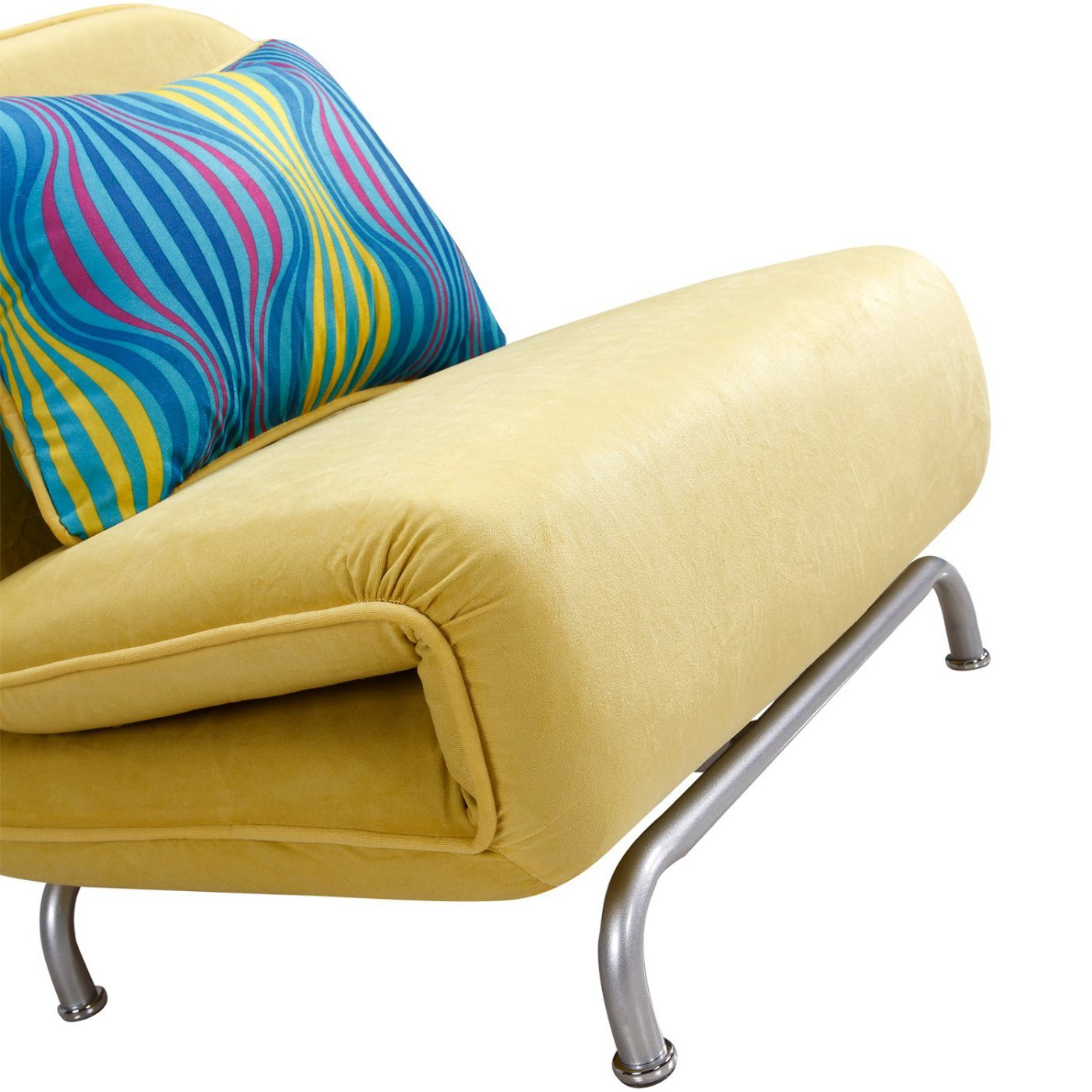 Modern Rotating Single Sofa Chair With Bed Function