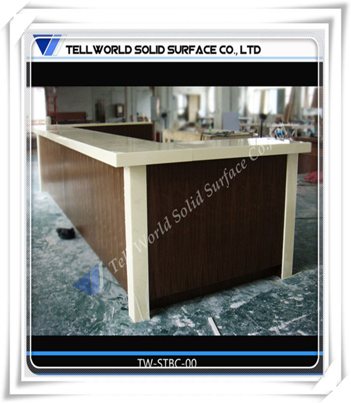 China Artificial Stone Home Bar Commercial Furniture Wine Bar ...