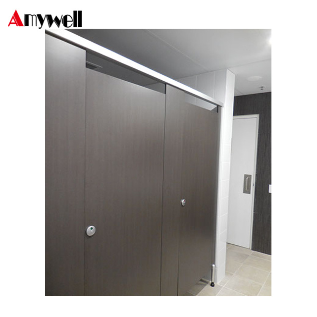 China Amywell Manufacturer Cheap HPL Toilet Partition Cubicle Awesome Bathroom Partition Manufacturers Exterior