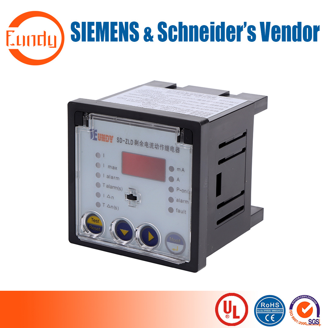 China Current Leakage Protection Relay For Industrial Power Under Schneider Equipements Detect Ground Leak