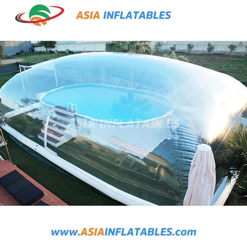 China Outdoor Inflatable Swimming Pool Cover, Water Pool Bubble ...