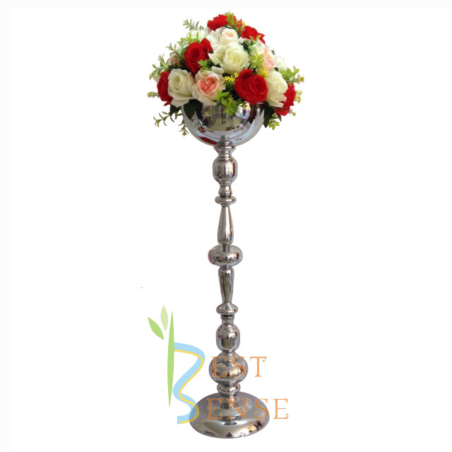 China 79cm Tall Wedding Metal Flower Stand Centerpiece - China Wedding Centerpiece, Metal Flower Stand