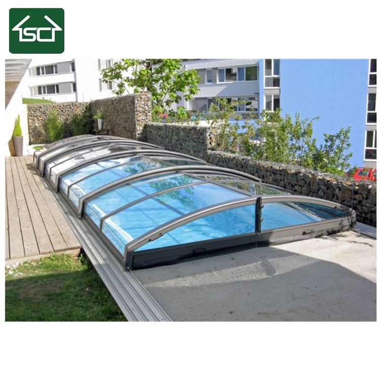 Chinese Wholesale Suppliers Polycarbonate Retractable Swimming Pool ...