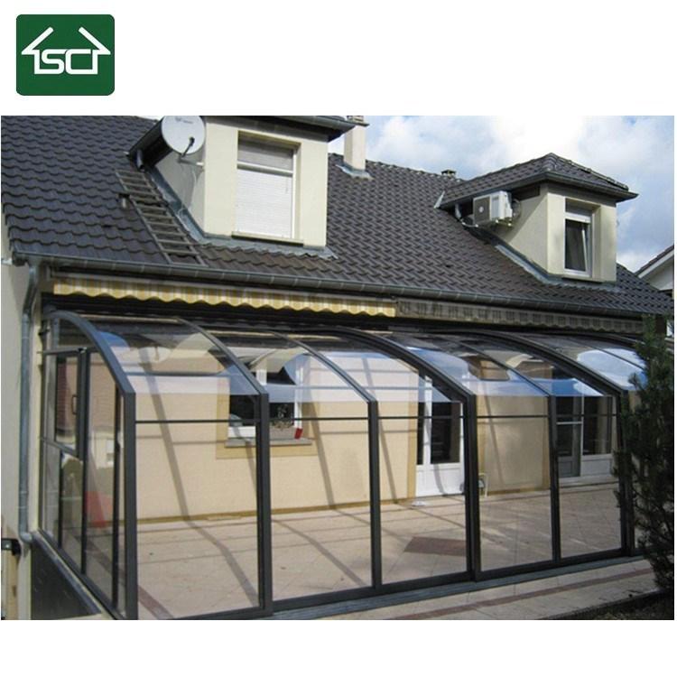 China Diy Design Outdoor 100 Anti Uv Veranda Retractable Sunroom China Terrasoverkapping Overkapping