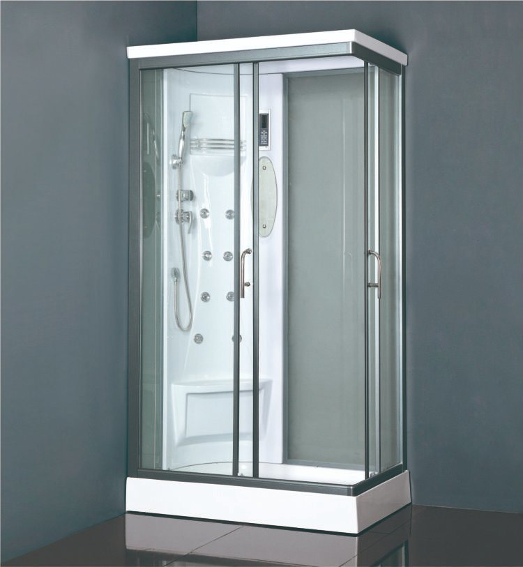 China Small Size 70*90 Square ABS Wall Panel Sliding Door Shower Box ...