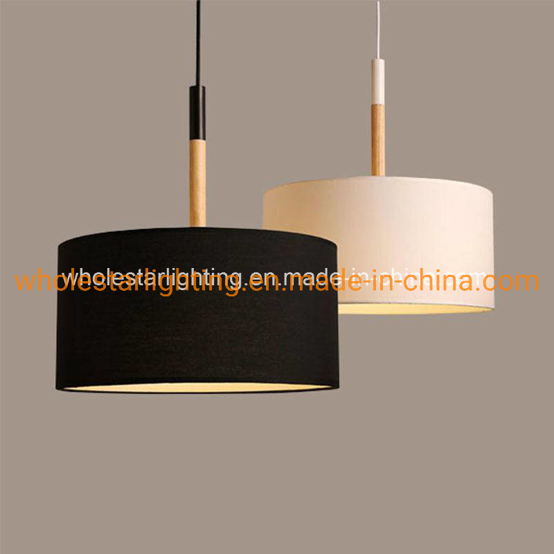 China Fabric Shade Pendant Lamp With