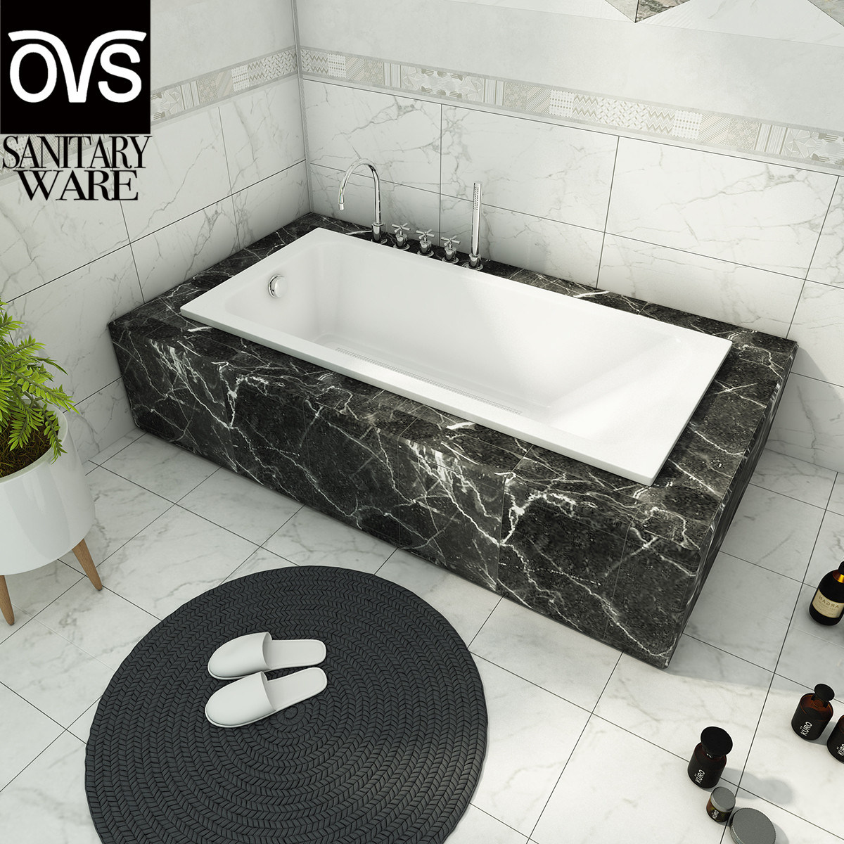 Picture of: China Qj2110 Acrylic Embedded Rectangle 1 Person Soaking Tub Drop In Bathtubs China Bathtub Tub