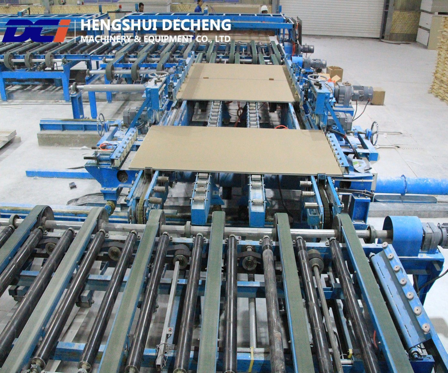 [Hot Item] Production Complete for Gypsum Board Manufacturing Line