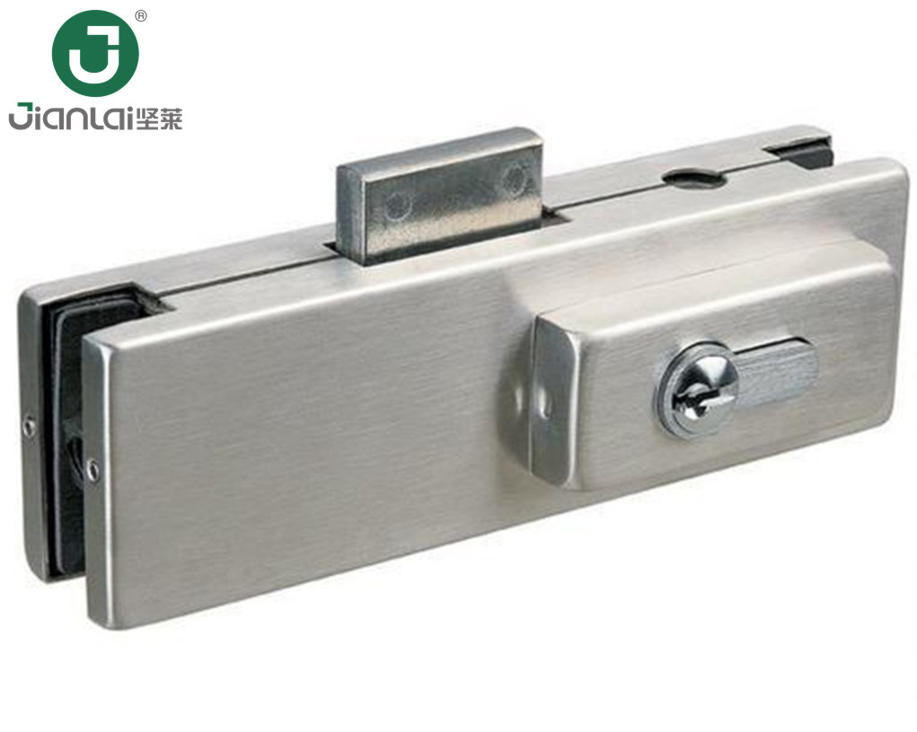 China Corner Lock Patch Fittings Glass Door Centre Patch Lock