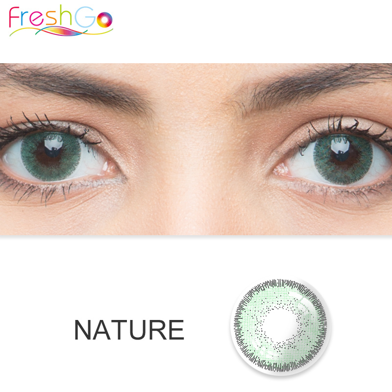 china freshgo 6 colors color contact lenses for cosmetic eye