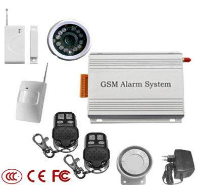 gsm alarm system with camera