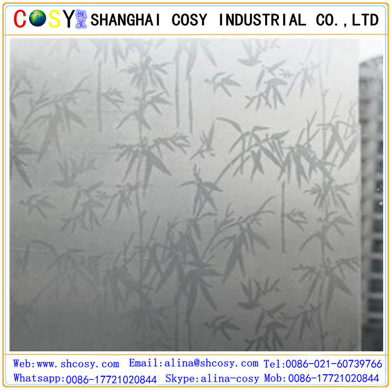 Adhesive Window Glass Film for Privacy Protection & Decoration pictures & photos