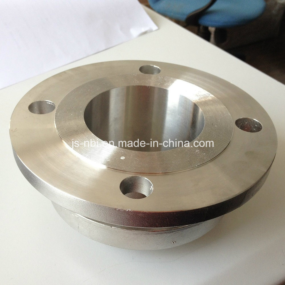 3 Inch Stainless Steel Threaded Flange with Groove pictures & photos