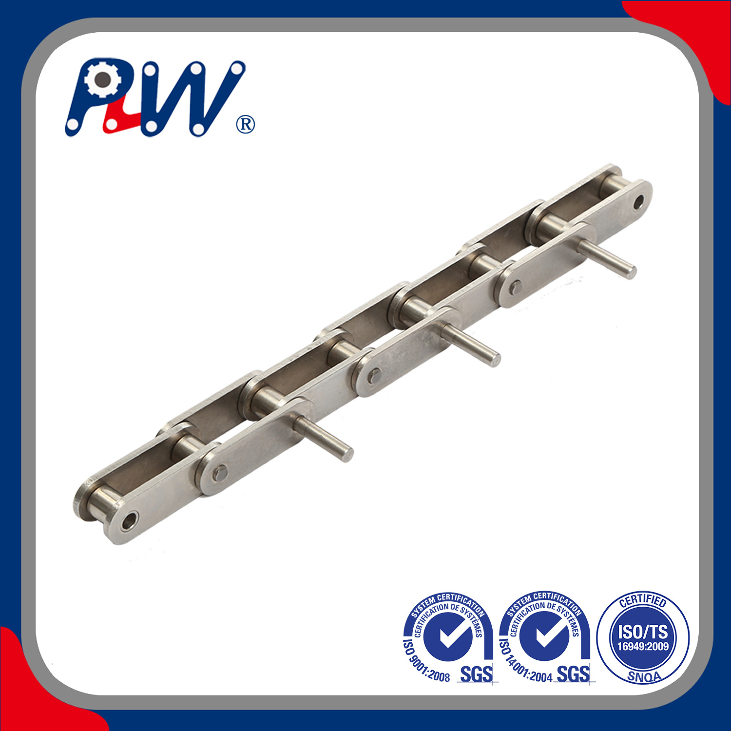 [Hot Item] Extended Pin Stainless Steel Roller Chain