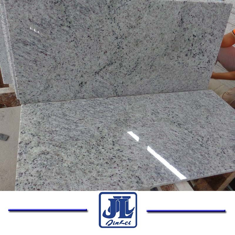 China Kashmir White Granite Tiles For Flooring And Wall Facade