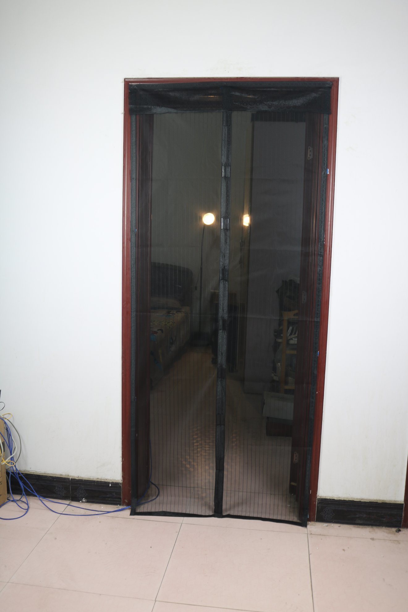 China Easy Install Mosquito Net Screen Door For Windows Doors