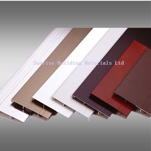 Aluminium Section for Edging/Tile Trim pictures & photos