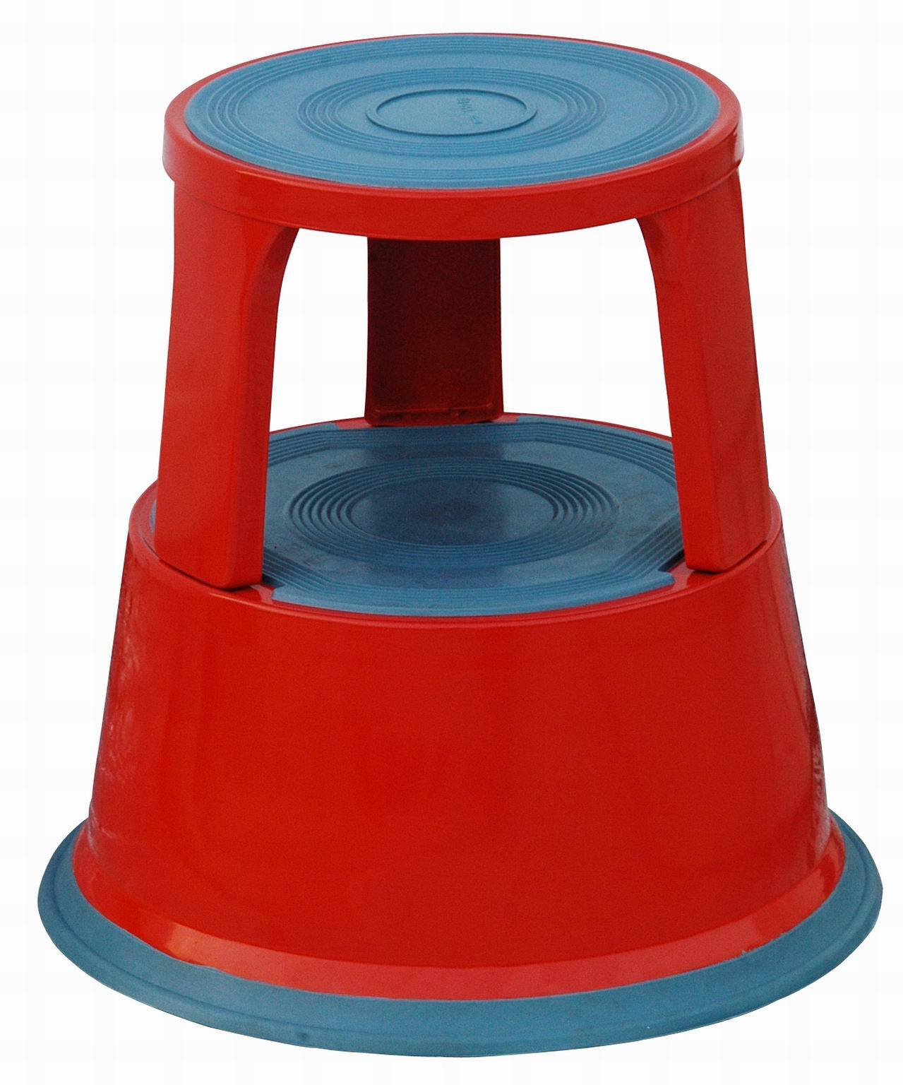 stool step pounds up solid to steel itm holds tone rolling construction silver