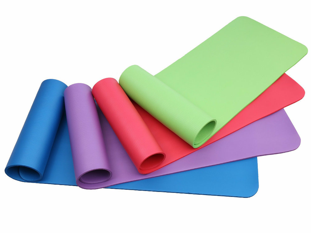 NBR Foam Gym Fitness Pilates Exercise Mats with Ce, En71, RoHS, Rach Certificates