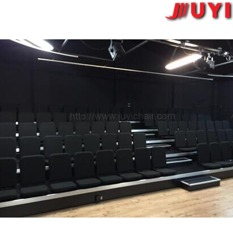 Soft Cushion Retractable Bleachers Tribune Theater Chair