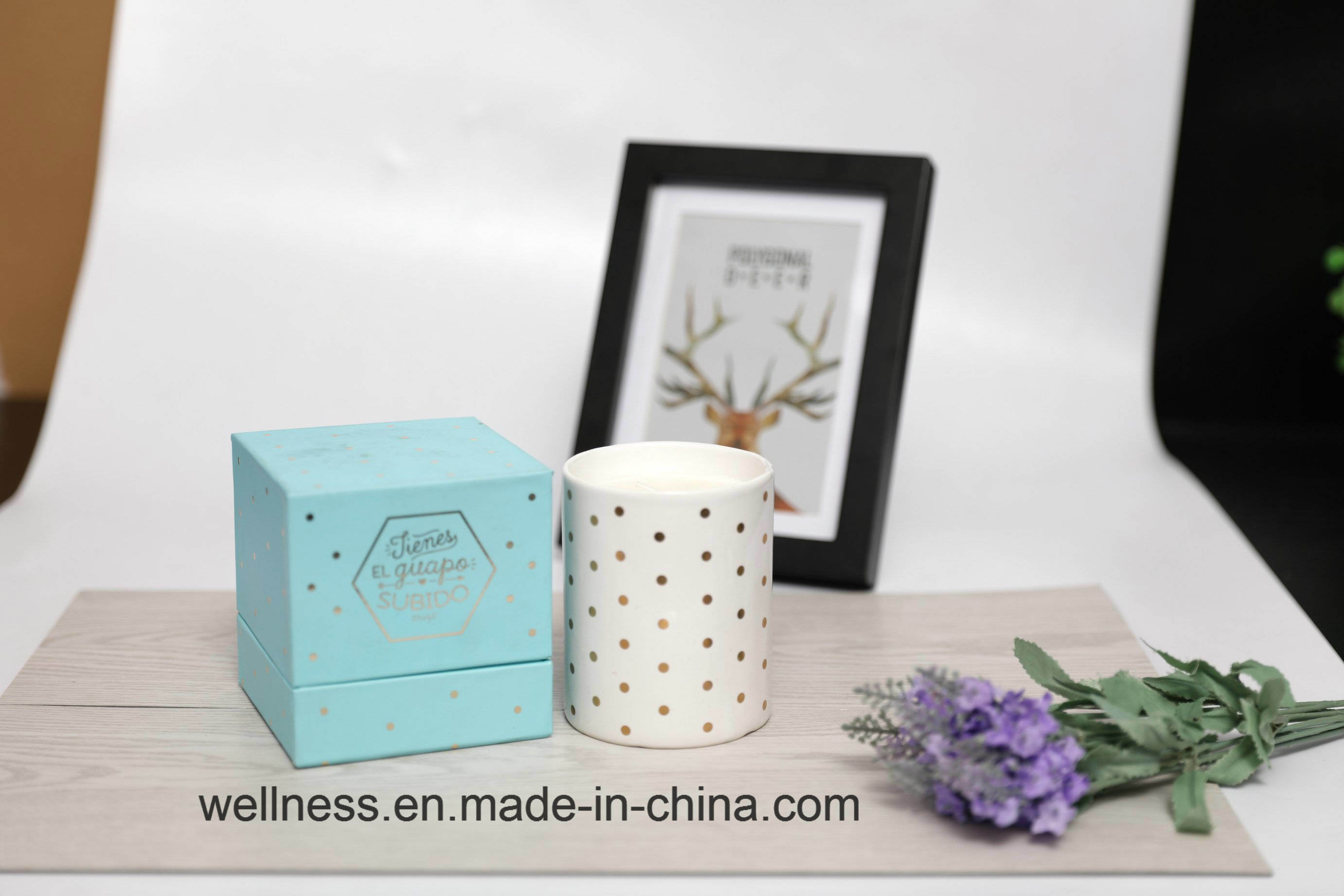 China Custom Glass Scented Candles, With Beautiful Boxes  China