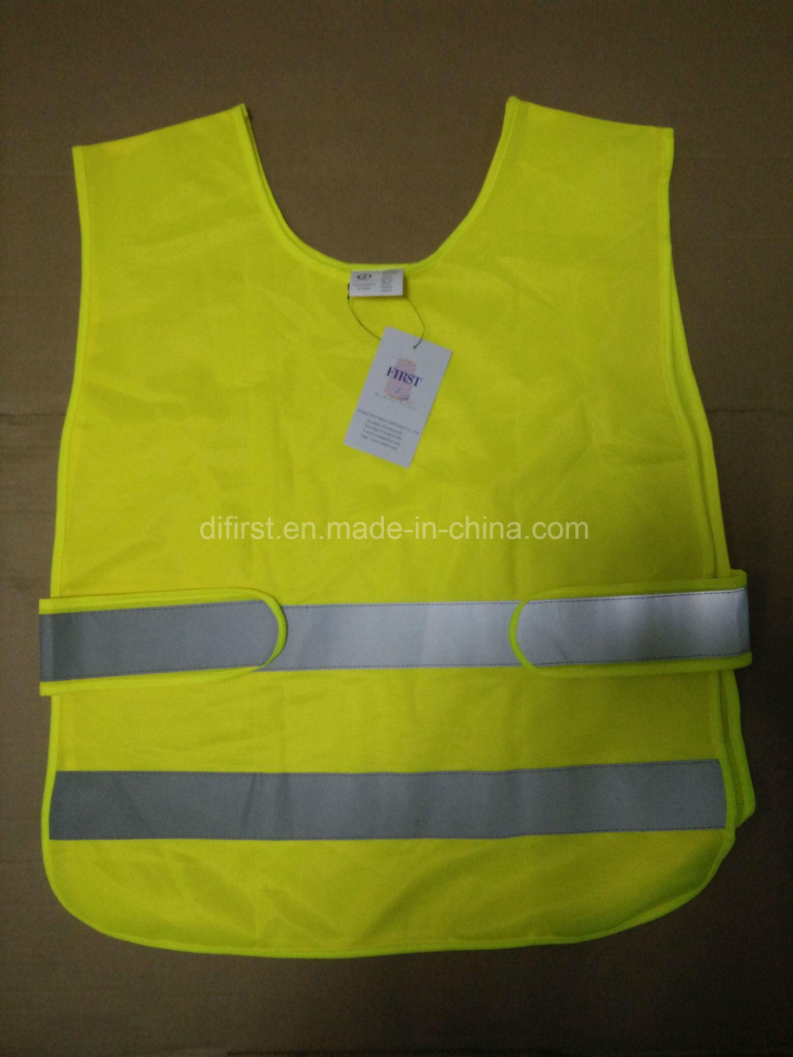 [Hot Item] Hot Salling Safety Vest with Reflective Tape TUV Rheinland