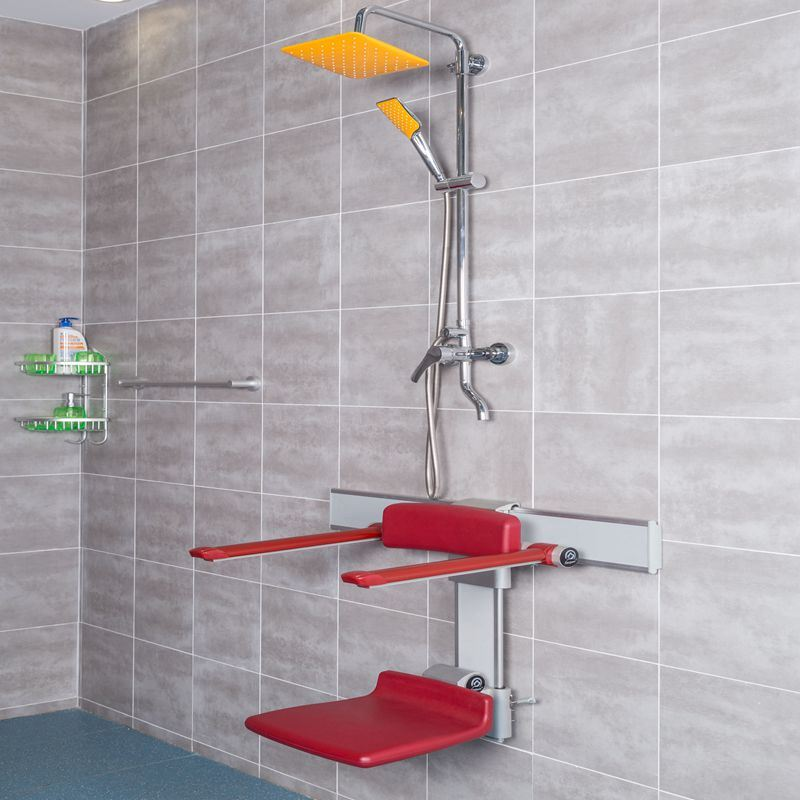 China Safety Aluminum Shower Chairs Used in The Hospital Photos ...