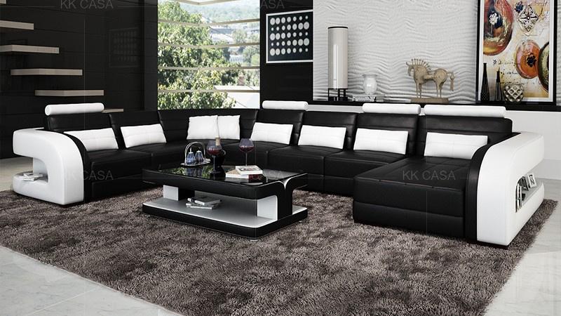 Modern Sectional Sofa Set 7 Seater