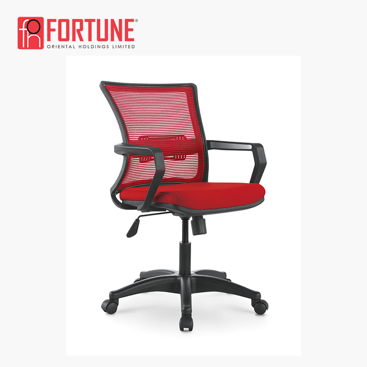 Fine China Red Colorful Staff Computer Mesh Office Swivel Chair Andrewgaddart Wooden Chair Designs For Living Room Andrewgaddartcom