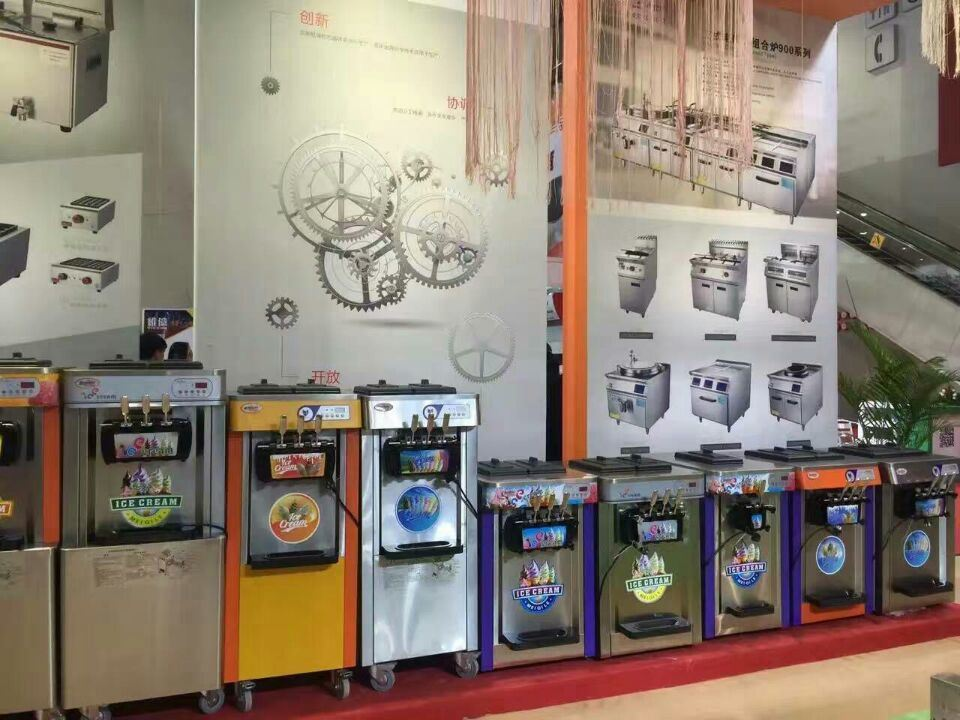 Manufacture Industry Stainless Steel Soft Serve Ice Cream Making Machine with High Quality pictures & photos