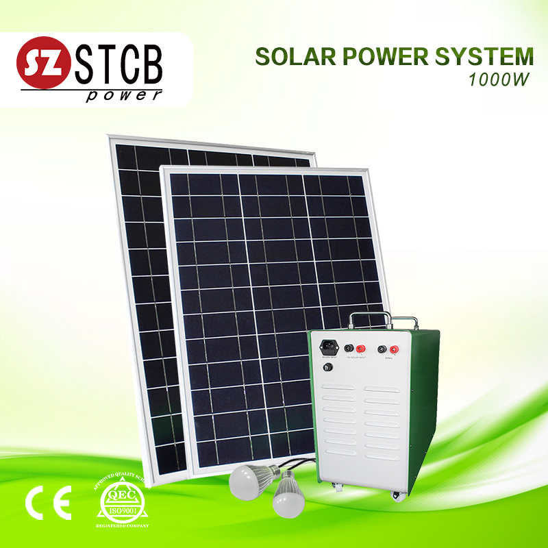 China 1000W Solar Power for Household - China Solar System 1000W ...