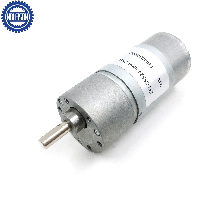 12V DC 300RPM 6mm Shaft Magnetic Electric Gear Box Motor