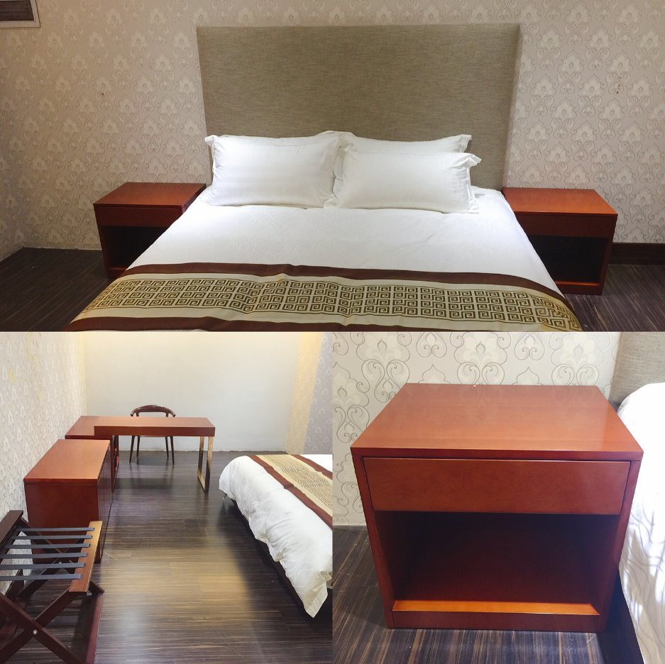 Hot Item Hotel Modern Bedroom Furniture Hotel Furniture Standard Apartment King Size Bedroom Furniture King Size Hospitality Guest Room Furniture