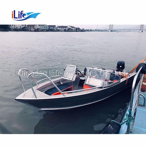 Hot Item Ilife Aluminium Bowrider 6 5m Jon Boats Panga Rescue Electric Fishing Motor Cabin Cruiser Yacht Boat For Sale