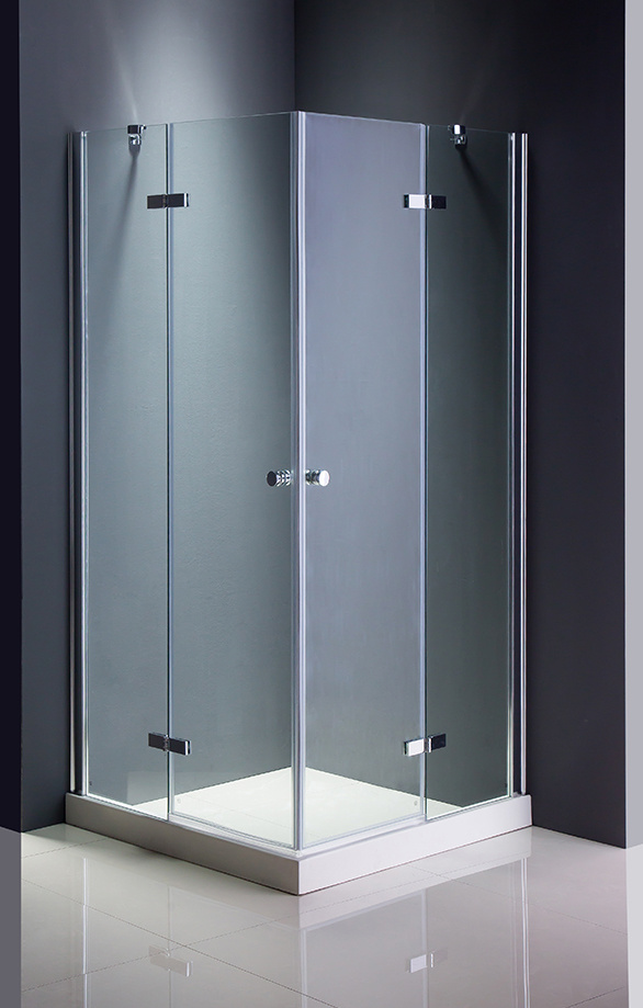 China Square Transparent Glass Shower Cubicle - China Simple Shower ...
