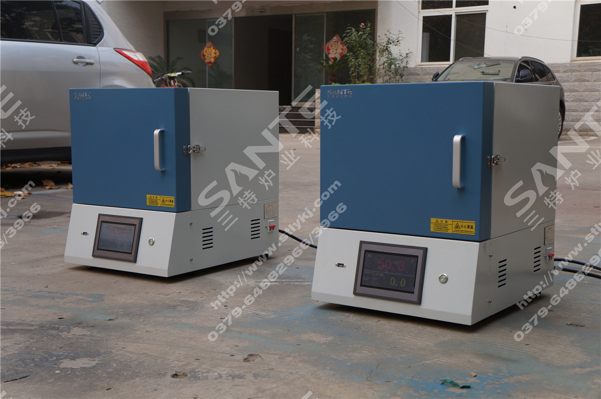 1200c Programmable Muffle Furnace Lab Box Furnace