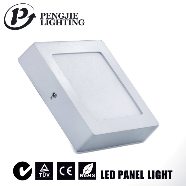 Hot Sale 12W LED Surface Panel Light with CE (Square)