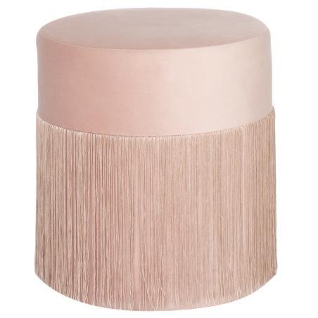 cheaper 4356b 91305 [Hot Item] Modern Luxury Round Velvet Tassels Fringe Ottoman
