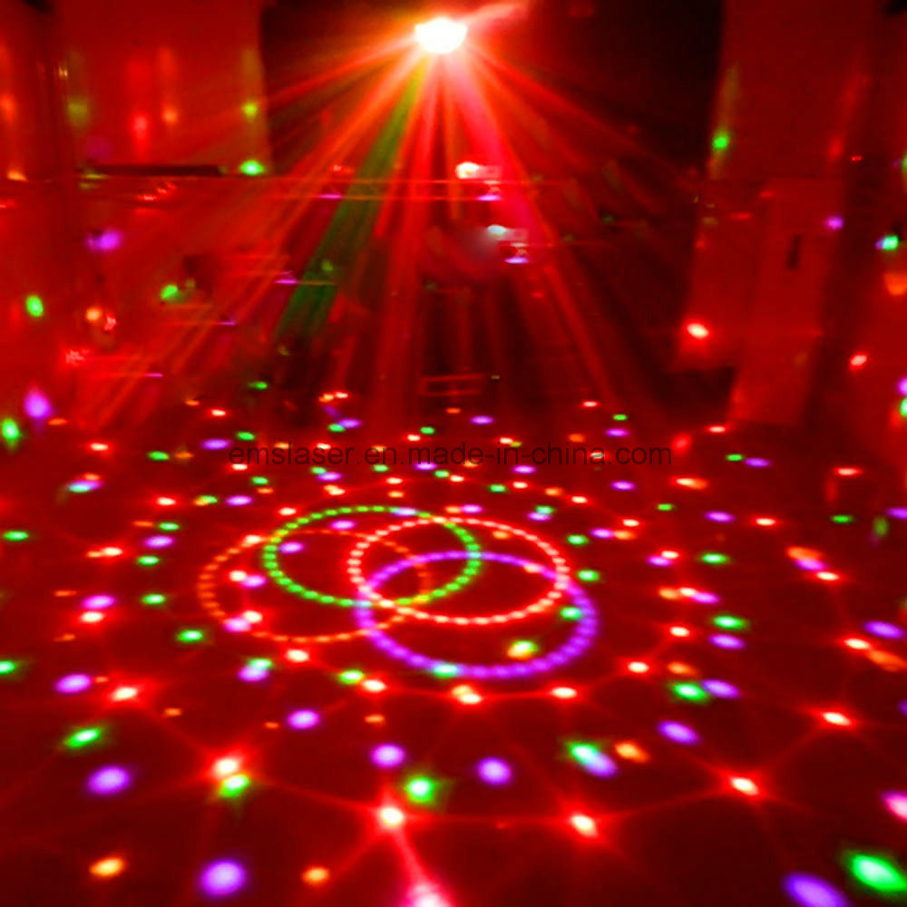 DMX512 LED Magic Ball Light Rgbywp LED Disco DJ Light with Remote Control pictures & photos