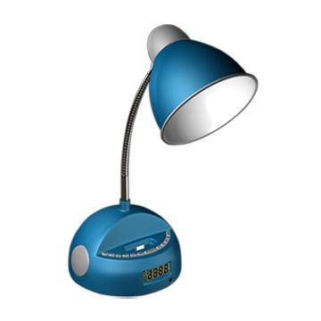 China Multifunction Am Fm Alarm Clock Radio Desk Light For